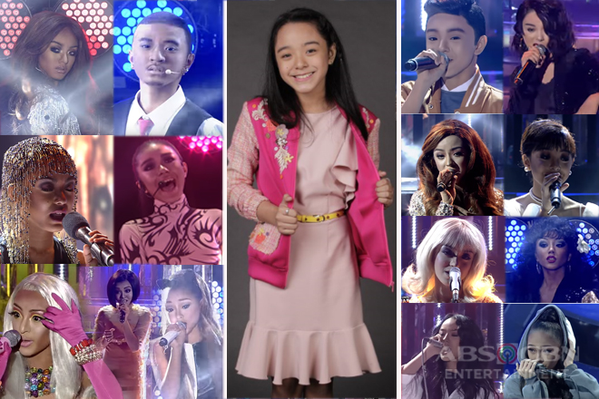 The shimmering journey of Sheena Belarmino in Your Face Sounds Familiar Kids 2