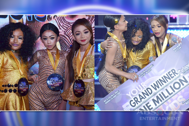 WINNING MOMENTS: TNT Boys is Your Face Sounds Familiar Kids 2 Grand Winner